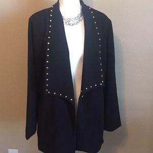 New Michael Kors Gold Studded Jacket/blazer cardi